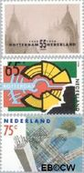 Nederland NL 1448#1450  1990 Rotterdam  cent  Gestempeld