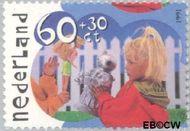 Nederland NL 1483  1991 Kinderspelen 60+30 cent  Gestempeld