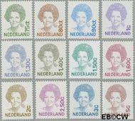 Nederland NL 1488#1501  1991 Koningin Beatrix- Type 'Inversie'  cent  Gestempeld