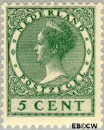 Nederland NL 149  1924 Koningin Wilhelmina- Type 'Veth' 5 cent  Ongebruikt