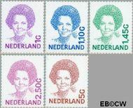 Nederland NL 1491b#1501b  2001 Koningin Beatrix- Type 'Inversie'  cent  Gestempeld