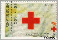 Nederland NL 1535c  1992 Rode Kruis 80+40 cent  Gestempeld