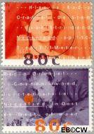 Nederland NL 1561#1562  1993 Radio Oranje  cent  Gestempeld