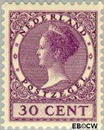 Nederland NL 158  1924 Koningin Wilhelmina- Type 'Veth' 30 cent  Gestempeld