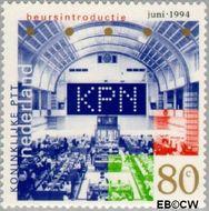 Nederland NL 1615  1994 Beursgang K.P.N. 80 cent  Gestempeld