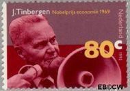 Nederland NL 1655  1995 Nobelprijswinnaars 80 cent  Gestempeld