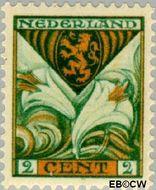 Nederland NL 166  1925 Provinciewapens 2+2 cent  Gestempeld