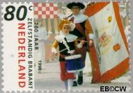 Nederland NL 1682  1996 Noord-Brabant 80 cent  Gestempeld