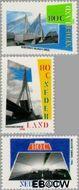 Nederland NL 1687#1689  1996 Nederland, waterland  cent  Gestempeld