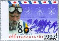 Nederland NL 1710  1997 Elfstedentocht 80 cent  Gestempeld