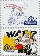 Nederland NL 1714a#1715a  1997 Strippostzegels Suske en Wiske  cent  Gestempeld