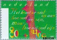 Nederland NL 1718  1997 Ouderen 80+40 cent  Postfris