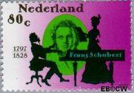Nederland NL 1729  1997 Schubert, Franz 80 cent  Gestempeld