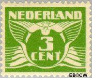 Nederland NL 175  1927 Vliegende Duif 3 cent  Gestempeld