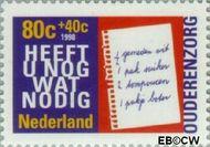 Nederland NL 1759  1998 Ouderen 80+40 cent  Gestempeld