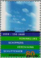 Nederland NL 1823  1999 Nederland, waterland 80 cent  Gestempeld