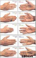 Nederland NL 1878#1887  2000 Gefeliciteerd  cent  Postfris