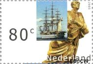 Nederland NL 1910  2000 Sail 2000 80 cent  Gestempeld