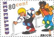 Nederland NL 1919  2000 Strippostzegels- Sjors en Sjimmie 80 cent  Gestempeld