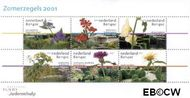 Nederland NL 1973  2001 Tuinen in Nederland  cent  Postfris
