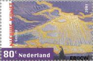 Nederland NL 1974  2001 Nieuwe kunst 80 cent  Gestempeld