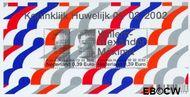 Nederland NL 2046  2002 Koninklijk Huwelijk  cent  Gestempeld