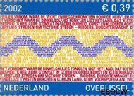 Nederland NL 2074  2002 Provincie- zegel Overijssel 39 cent  Gestempeld