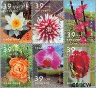Nederland NL 2077#2082  2002 Floriade  cent  Gestempeld