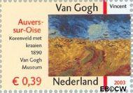 Nederland NL 2151  2003 Vincent van Gogh 39 cent  Gestempeld
