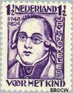 Nederland NL 220  1928 Minckelers, J.P. 1½+1 cent  Gestempeld