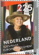 Nederland NL 2342e  2005 Regeringsjubileum Koningin Beatrix 225 cent  Gestempeld