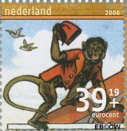 Nederland NL 2417a  2006 Leesplankje 39+19 cent  Gestempeld