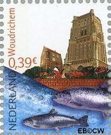 Nederland NL 2421a#  2006 Mooi Nederland- Woudrichem  cent  Gestempeld