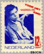 Nederland NL 243  1931 Misdeelde kind 12½+3½ cent  Gestempeld