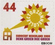 Nederland NL 2551  2008 Tien voor Nederland (Zuinig met energie) 44 cent  Gestempeld