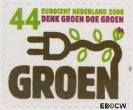 Nederland NL 2556  2008 Tien voor Nederland (Zuinig met energie) 44 cent  Gestempeld