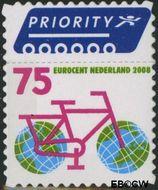 Nederland NL 2560  2008 Vijf voor Europa en Vijf voor de wereld 75 cent  Gestempeld