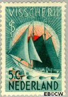 Nederland NL 258  1933 Zeemanszegels 5+3 cent  Gestempeld