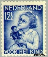 Nederland NL 273  1934 Kind met pop 12½+3½ cent  Gestempeld