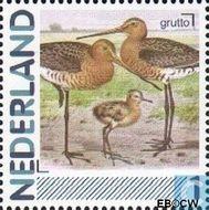 Nederland NL 2791b  2011 Vogels 1 cent  Gestempeld