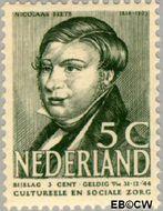Nederland NL 321  1939 Bekende personen 5+3 cent  Gestempeld