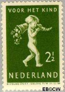 Nederland NL 328  1939 Kind met hoorn des overvloeds 2½+2½ cent  Gestempeld
