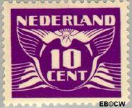 Nederland NL 382  1941 Vliegende Duif 10 cent  Gestempeld