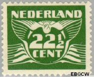 Nederland NL 387  1941 Vliegende Duif 22½ cent  Postfris