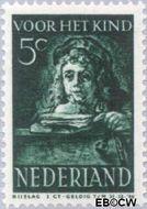 Nederland NL 400  1941 Schilderij Rembrandt 5+3 cent  Gestempeld