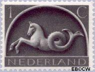Nederland NL 405  1943 Germaanse symbolen 1 cent  Gestempeld