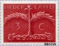 Nederland NL 409  1943 Germaanse symbolen 3 cent  Postfris