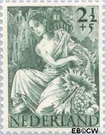 Nederland NL 450  1946 Nationale-hulpzegel 2½+5 cent  Gestempeld