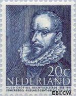 Nederland NL 494  1947 Bekende personen 20+5 cent  Gestempeld
