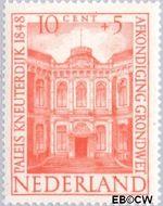 Nederland NL 502  1948 Paleizen 10+5 cent  Gestempeld